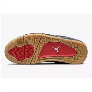 85285cb8af64 Nike Shoes - Nike Air Jordan IV Retro 7 5.5Y Levis Black Denim